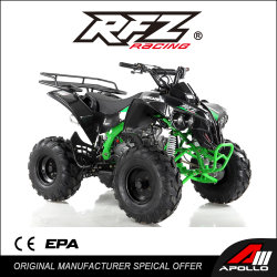 Saturax 125cc ATV, 반자동, 8인치 휠, 전기식 시동, 4중