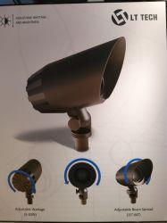 Latão maciço Lt2506L sotaque exterior disponível RGB Luminárias para iluminação Zigbee WiFi Bluetooth Projeto Paisagem
