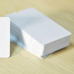 إمداد المصنع بطاقة بيضاء رخيصة الثمن طراز MIFARE Classic 1K بسرعة 13.56 ميجاهرتز البطاقة الذكية PVC RFID NFC