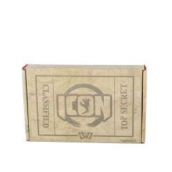 صندوق ورق الطباعة بالألوان مخصص لحزام الإنسان