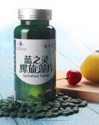 Natürliche organische Biokost Spirulina Tabletten