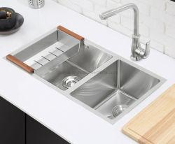 Venda a quente novo dissipador de cozinha em aço inoxidável (7843S)