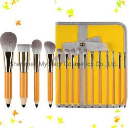 Neuer Verfassungs-Pinsel-Set Kabuki Puder-Kosmetik-Pinsel des Entwurfs-15PCS mit Verfassungs-Beutel
