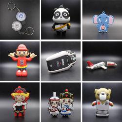 شعار البيع بالجملة مخصص شكل PVC 32 جيجا بايت ذاكرة فلاش USB Stick Pendrive USB2.0 USB 3.0 USB فلاش محرك الأقراص الحيوانات والبقرة والبثور الشكل