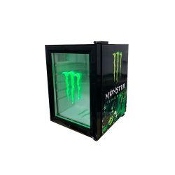 21L モンスターミニバーカウンタートップドリンクビールボトルクーラーミニ 冷蔵庫