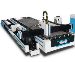Roestvrij stalen aluminium koperen CNC-plaatstaal of buisbuis Machine voor het snijden van glasvezels (Snijmachine)