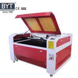 ماكينة عالية الجودة مزدوجة ثلاثية الرأس من نوع 6090 1390 1610 آلة قص ليزر للنسيج المكسوة بالسجاد