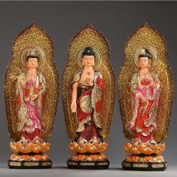 Drei Buddha-Jade-Statue für Hauptdekoration