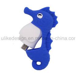 ذاكرة فلاش فلاش الخرائط الشخصية Seahorse مخصصة فلاش هدية محرك أقراص USB Pen Drive