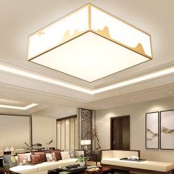 أكريليكيّ حديثة [لد] [سيلينغ ليغت] يعيش غرفة غرفة نوم يشعل مربّع بيضاء بسيطة إنارة سقف مصباح