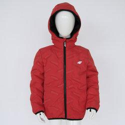 Kinderkleding voor Fashion Jacket Channel-voering Coat met Hood warme kleding