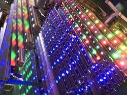 Colorida Edificio exterior Lámpara de bañador de pared LED de iluminación