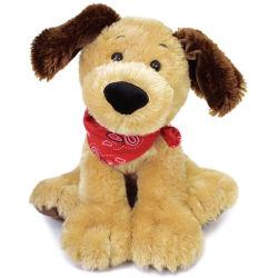 OEM يرتدي وشاح لطيف 20 سم لطيف وثيرة الكلب لعبة جرو الحيوانات المحشوة