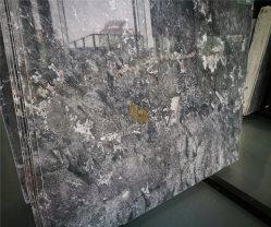 台所のための金か黒または白またはブラウンまたはギャラクシー灰色の大理石の石造りの平板のカウンタートップか浴室または壁または床
