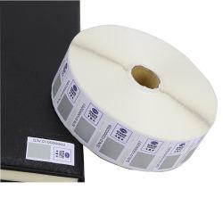 공장 맞춤형 접착지 가변 QR 코드 바코드 라벨 스티커