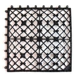 Scatto facile dell'interruttore di sicurezza in scantinato di plastica riciclato del pavimento di DIY per le mattonelle di legno composite della piattaforma della plastica WPC