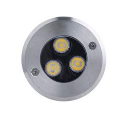 Metro de baja tensión LED Exterior Impermeable IP68 en el suelo y la luz
