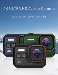 Casco resistente al agua 4K de la grabación de vídeo cámara de acción de WiFi para el Buceo