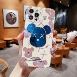 Nova personalização do IMD epóxi Blu-Ray DOT furar os casos de Telefone para iPhone 12 Telefone TPU Tampa da Caixa