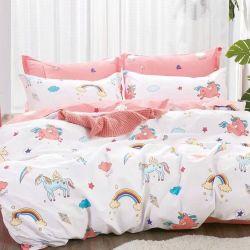 Tissu 100% coton Cartoon Textiles pour la literie ensemble les enfants dinosaure éléphant Unicorn