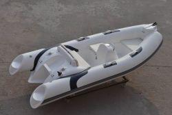 Liya 3.8m Fiberglas-Rumpf-steifer aufblasbarer Boots-Nautiker-aufblasbares Boot