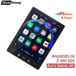 Silverstrong 2 DIN autoradio mobiele telefoon Interconnectie Auto Audio Stereo Radio GPS Navigatie WiFi Bluetooth Multimedia Video Player