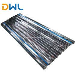 건축재료 직류 전기를 통한 강철 물결 모양 루핑 장 단계는 지붕용 자재 사다리꼴 금속 루핑 장을 타일을 붙인다
