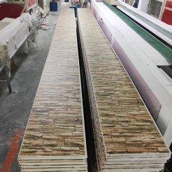 3D PVC-Wandpaneele in Steindesign, einfache/flache Oberfläche, Laminierung PVC-Deckenpaneel Baustoffe Inneneinrichtung für den indischen Markt