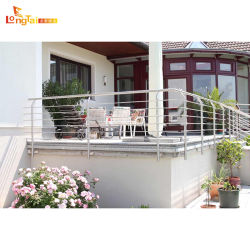 Из нержавеющей стали для Balustrade балкон и терраса с визирной линии отделки поверхности