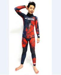 Yamamoto Jako Neoprene de alta calidad estilo camuflaje abierto de celda libre Traje de buceo de buceo de pesca de la lanza