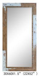 La Chine a fait miroir en bois naturel pour la maison (élément de décoration#611701111)