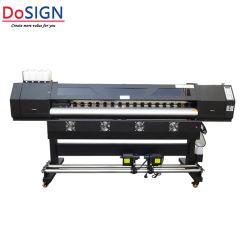 Approuvé ce nouveau style de l'éco solvant 1,8 m de l'imprimante sur Foire Expo pour la vente
