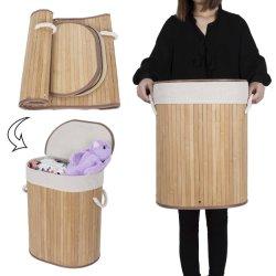 Excelente servicio de lavandería de bambú Cesta con camisas de extraíble