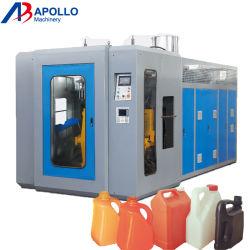 Double tête à station unique Extrusion Machine de moulage par soufflage pour bouteilles HDPE
