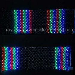 LED multicolor de las luces de Navidad vacaciones Net malla intermitente LED Navidad con efecto de caza