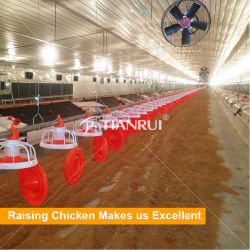 Azienda avicola automatica moderna della gabbia di batteria del pollo di disegno di Tianrui in Cina