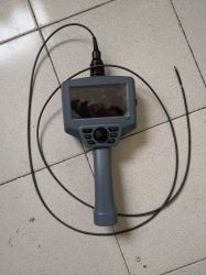 Портативных промышленных инспекционной ВИДЕО ЭНДОСКОПА камера с 4,0 мм объектив камеры, вставки трубы 1.5m