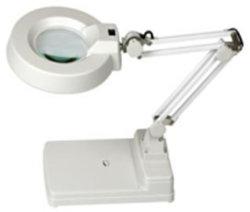 Tischplattenlampe Magnifer LED des tisch-5X Licht mit optisches Glas-Falz-Standplatz für Schaltkarte-Präzisionsteil-Inspektion