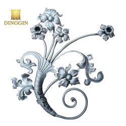 Wholesale ornamentales de alta calidad de la baranda de balcón de hierro forjado galvanizado Baluster