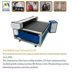 CNCの木製の布/Leather /PVC /EVA L二酸化炭素レーザーの切断\彫版機械