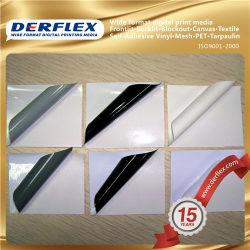 El material adhesivo auto adhesivo de vinilo de envoltura de fibra de carbono rotulación de vehículos