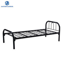 Горячая продажа прочного рамы современных металлических одна односпальная кровать/железа