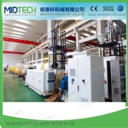 El plástico UPVC/PVC/PE/PP/HDPE/PPR/LDPE/Pprc la manguera de agua/tubo de Cable de conducto eléctrico/ventana Panel de pared/Perfil de la extrusora/máquina de fabricación extrusión Extrusión/precio