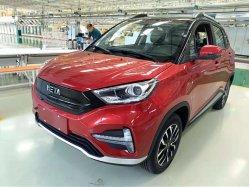 La velocidad de 120km de SUV de 430km de coche eléctrico kilometraje
