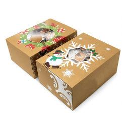 Haut de gamme personnalisée en usine de papier kraft de Promotion de vente chaude boîte cadeau, nouvelle conception de gros imprimés Boîte de papier personnalisé