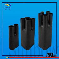 Cable Termoretráctil negro Breakout para cable/ Alambre sucursales