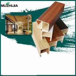 Instalar facilmente impermeável WPC madeira teto composto de PVC