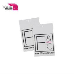Corte personalizado de alta qualidade em papel de formato Hangtag