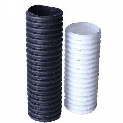 Le PEHD souterrains à paroi simple tuyau de drainage perforés en carton ondulé