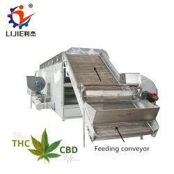 1000-5000 kg/h Cbd Cáñamo Sistema de secado del secador de flores para el CDB La extracción de petróleo